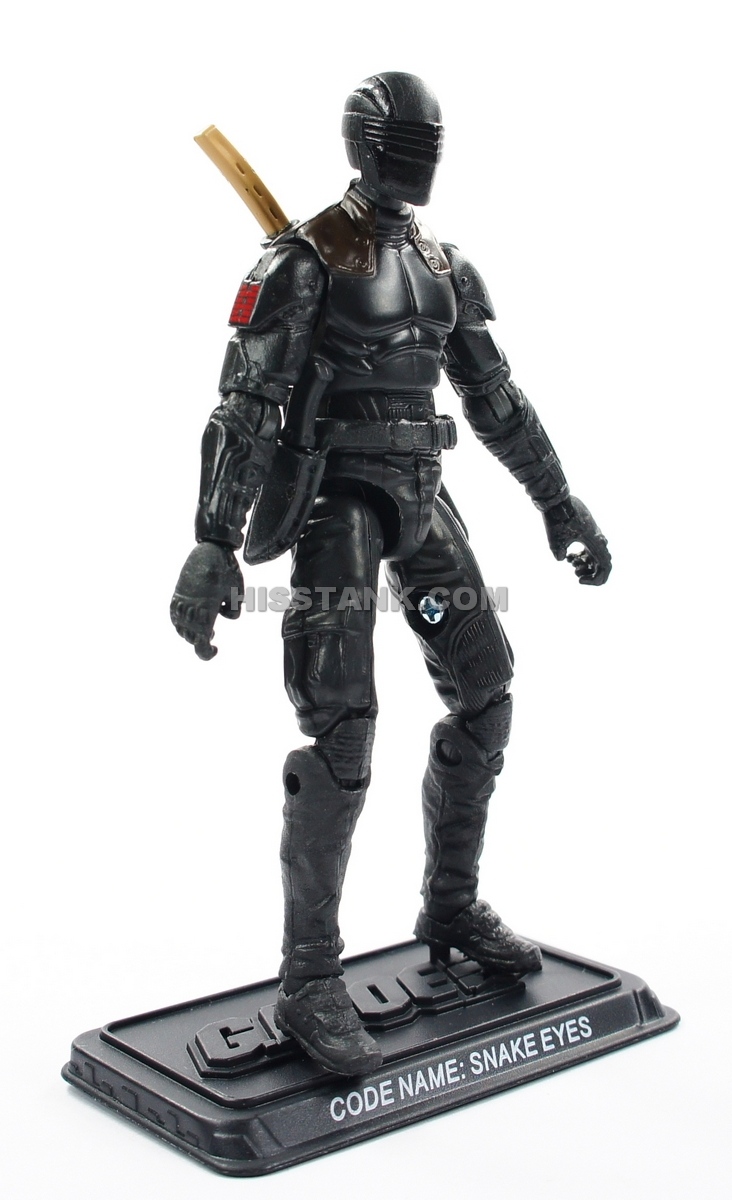 G.I Joe Retaliation Action Figure Ninja Duel Snake Eyes